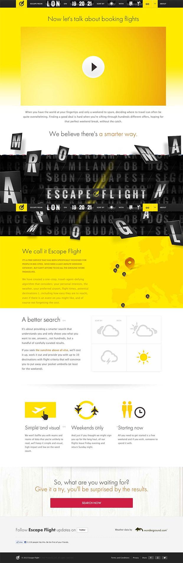 Escape-Flight
