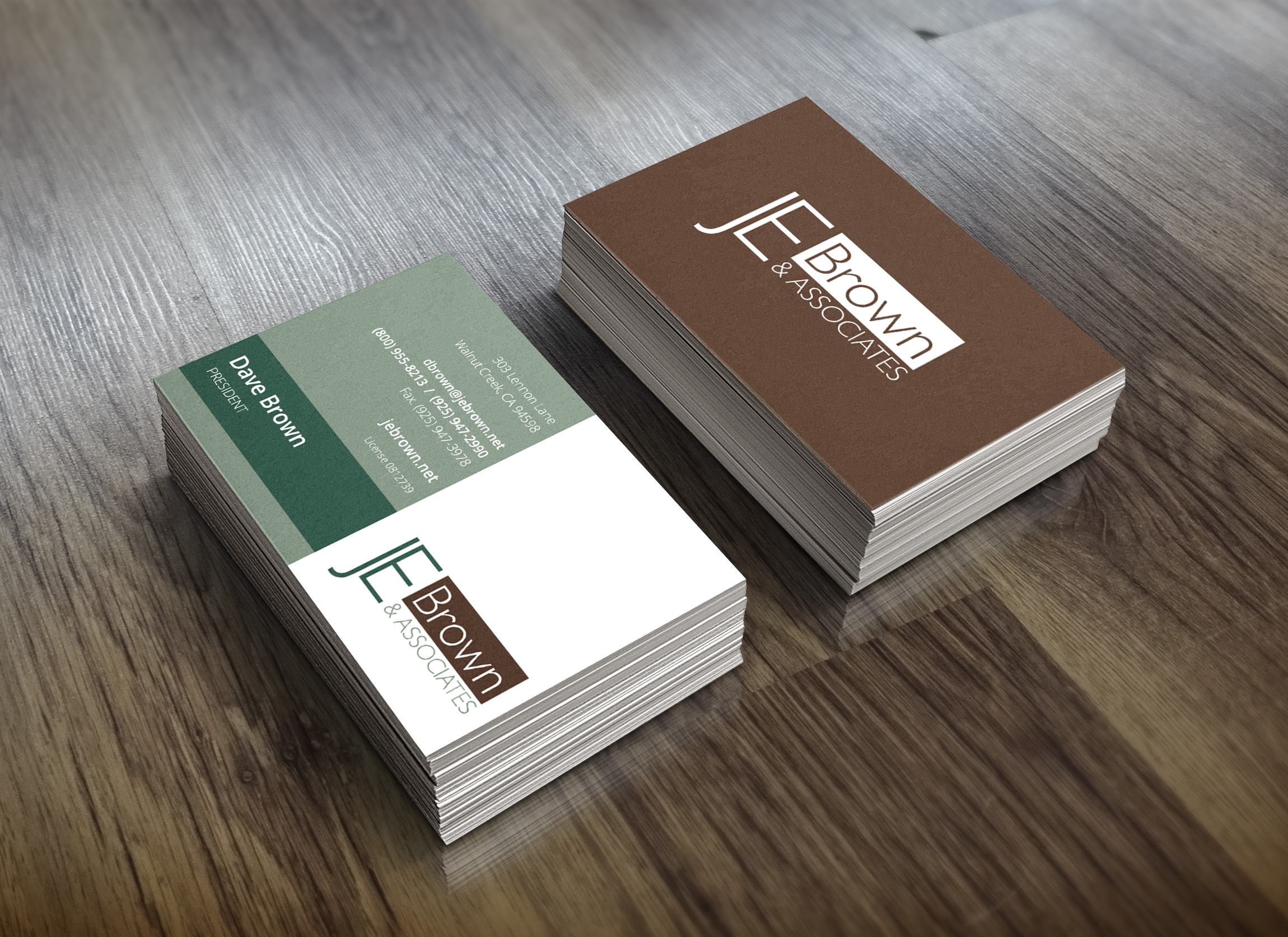 Insurance Business Card Design