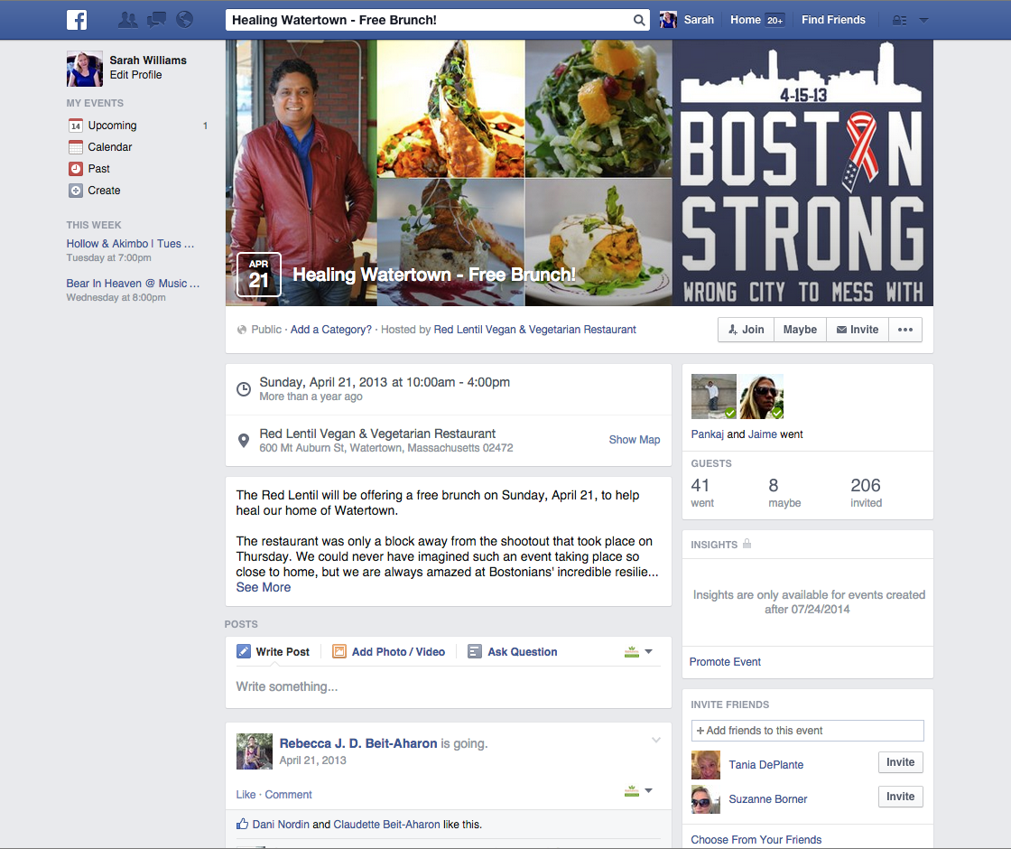 Boston Strong Promotion