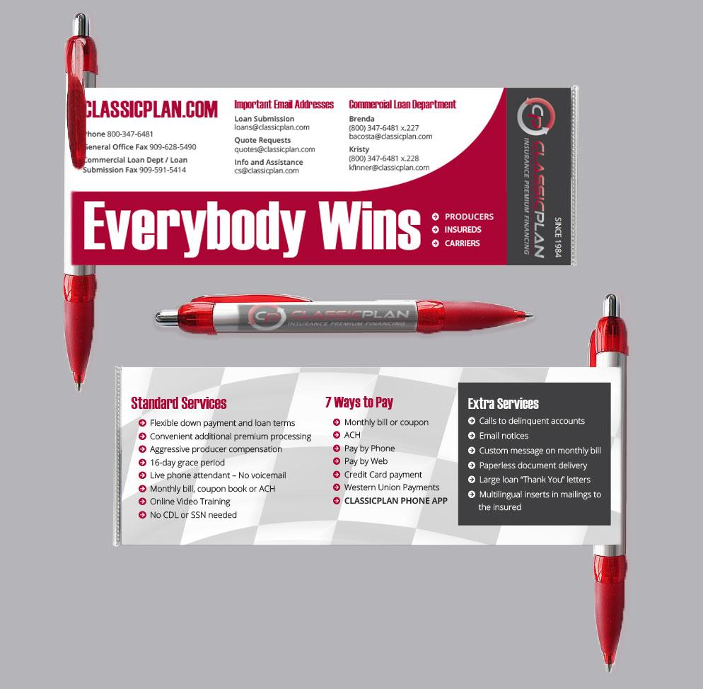Banner Pen Design