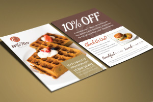 Restaurant Coupon Design