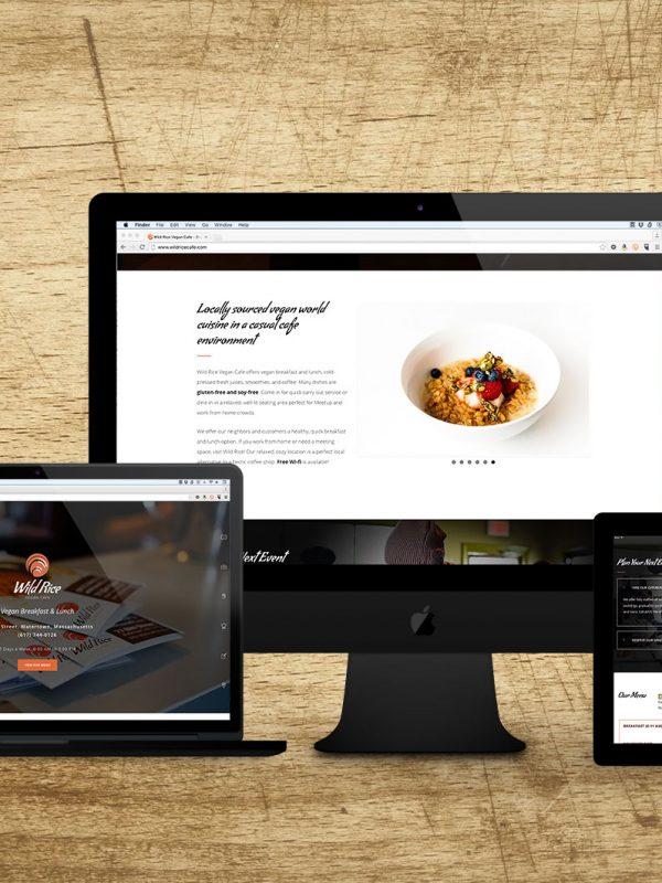 Vegan Cafe Website