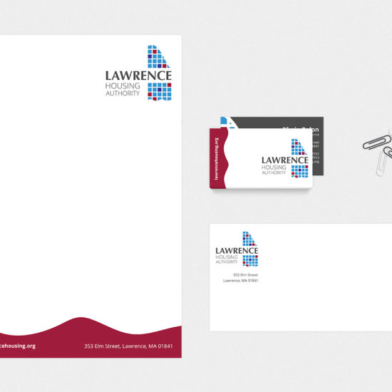 Housing Authority Stationery Design