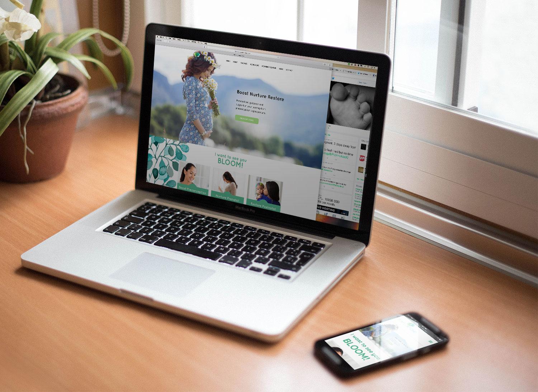 Pregnancy Coach Web Design
