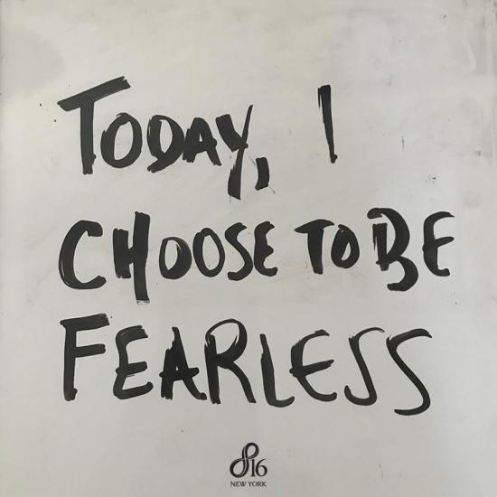 Fearless entrepreneur
