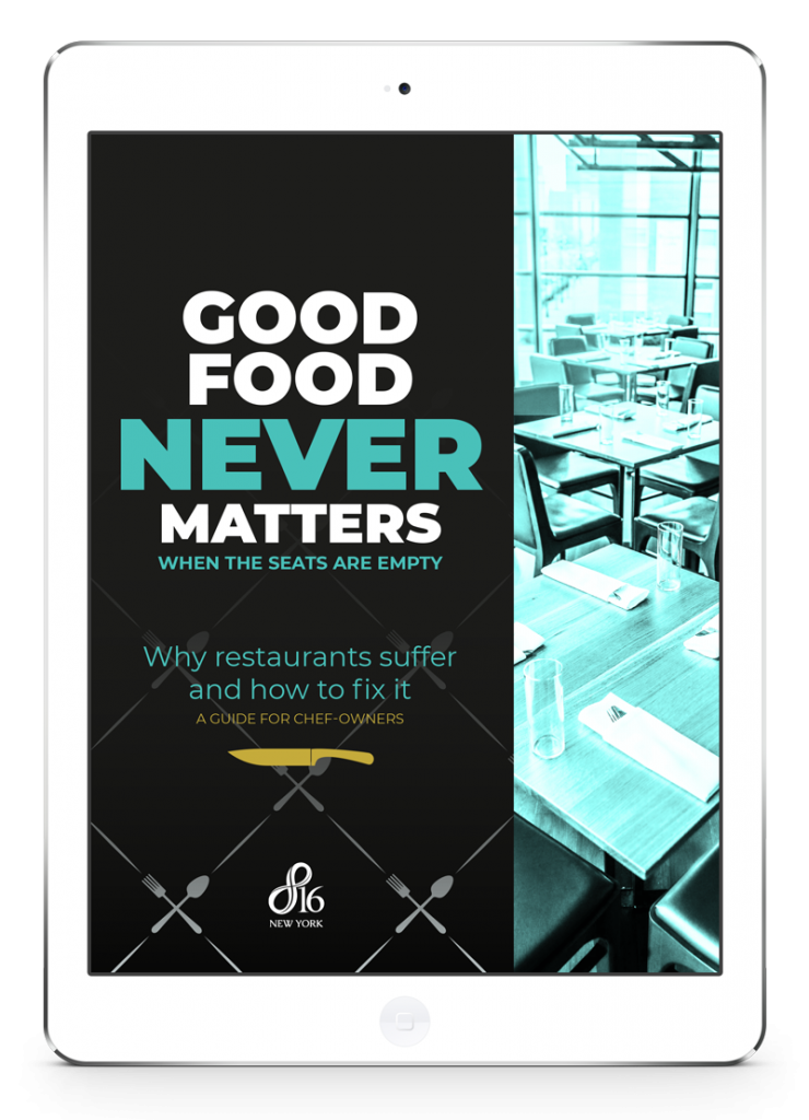 Restaurant ebook branding