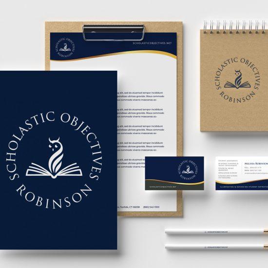 Education brand stationery