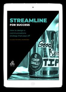 Small business communications strategy