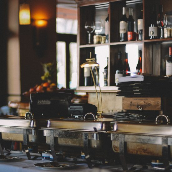 Restaurant catering equipment for extra income streams
