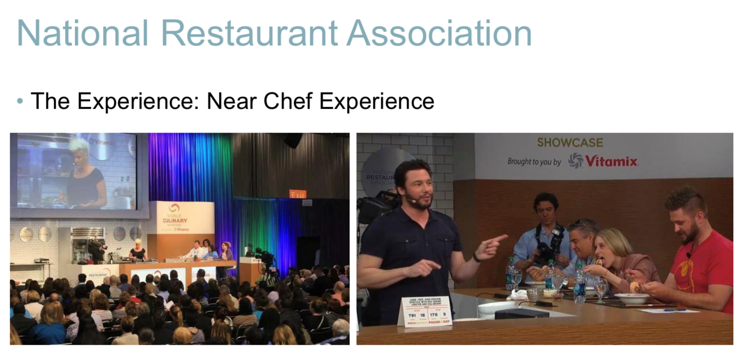 Photos from the National Restaurant Association event