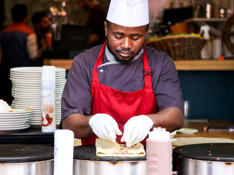 Chef food demo