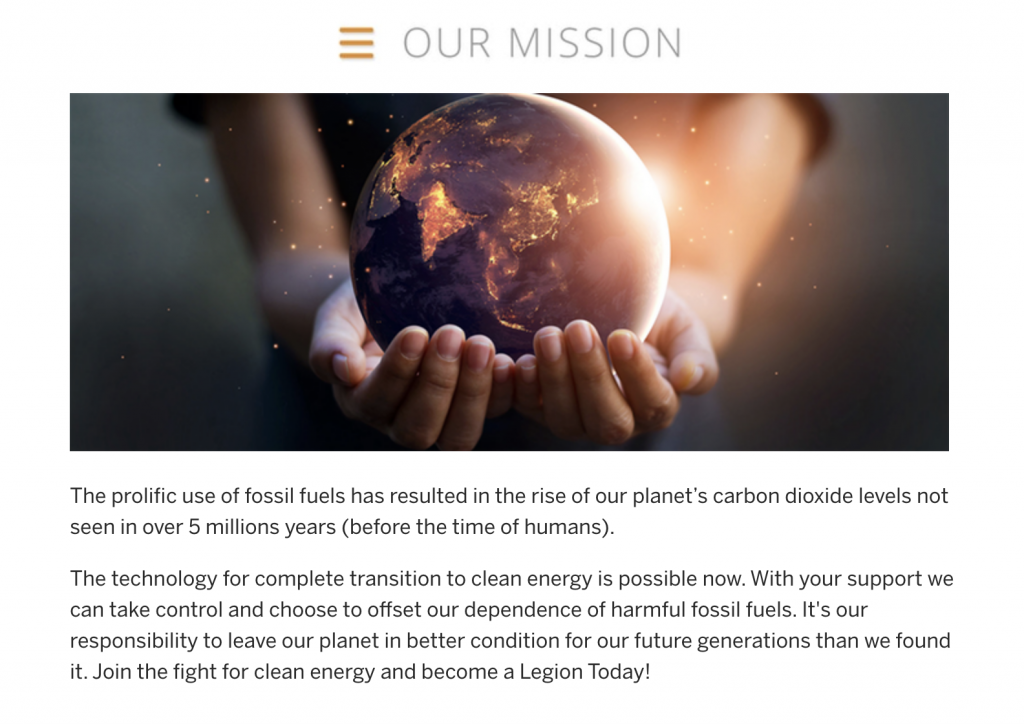 mission statement crowdfunding campaign