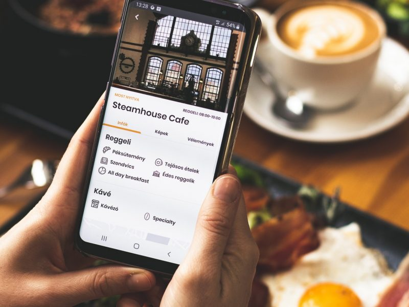 Bitcoin restaurant